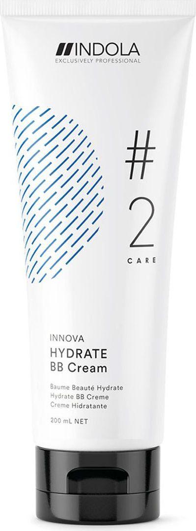 Indola Professional Увлажняющий ВВ Крем Hydrate #2 Care Innova, 200 мл2206368Увлажняющий BB-крем для волос содержит Масло Жожоба и Пиксельную Технологию. Прекрасно восстанавливает гидробаланс волос, защищает их от потери влаги. Для достижения максимального результата используйте Шампунь в комплексе с продуктами ухода линии HYDRATE.