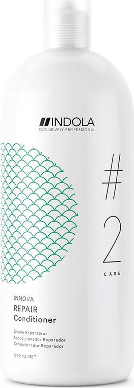 Indola Professional Восстанавливающий кондиционер для волос Repair #2 Care Innova, 1,5 л2206370Восстанавливающий кондиционер содержит масло марулы, облегчает расчесывание, повышает прочность и эластичность, обеспечивает глубокое питаниеи уменьшает ломкость волос до 95%. Формула с Пиксельной Технологией возвращает волосам первозданное качество, обеспечивая сияние цвета.