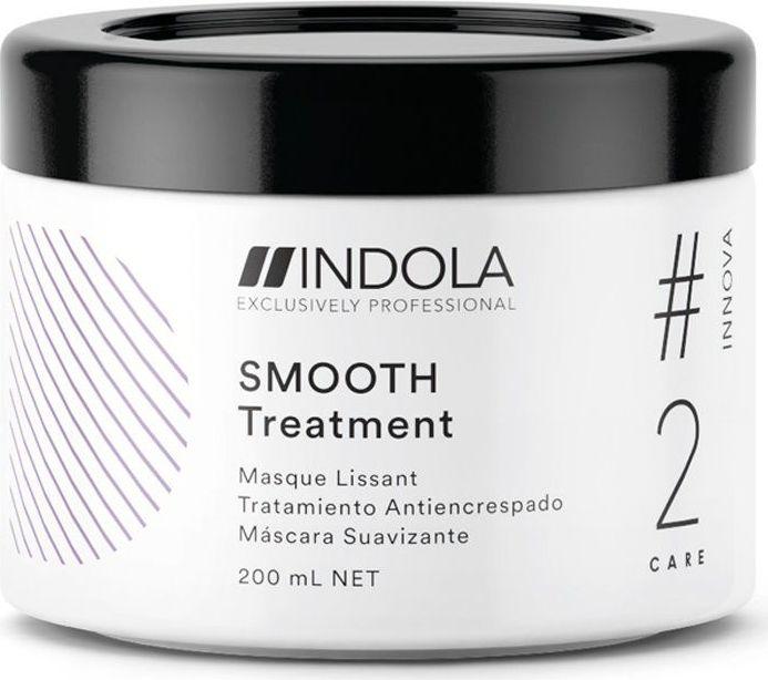 Indola Professional Разглаживающая маска для волос Smooth #2 Care Innova, 200 мл2207054Разглаживающая маска с Маслом Кокоса обеспечивает длительный контроль и дисциплинирует волосы, разглаживает кутикулярный слой для интенсивного блеска. Формула с Пиксельной Технологией возвращает волосам первозданное качество, обеспечивая сияние цвета.