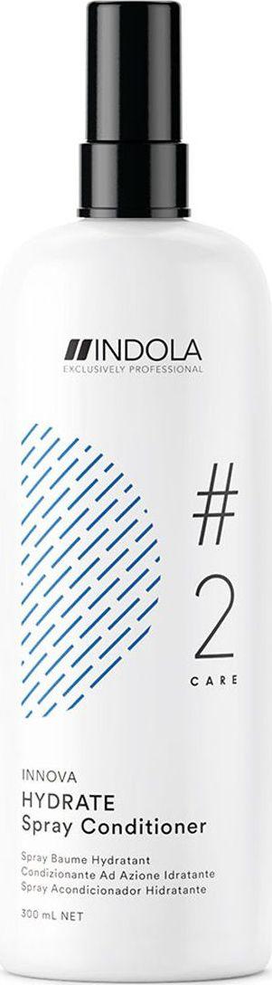 Indola Professional Увлажняющий спрей-кондиционер для волос Hydrate #2 Care Innova, 300 мл2207055Увлажняющий спрей кондиционер содержит масло жажоба, благодаря чему распутывает и великолепно увлажняет волосы, делая их мягкими и здоровыми. Формула с Пиксельной Технологией придает волосам непревзойденное качество и обеспечивает блеск. Для достижения максимального результата используйте Шампунь в комплексе с продуктами ухода линии HYDRATE.