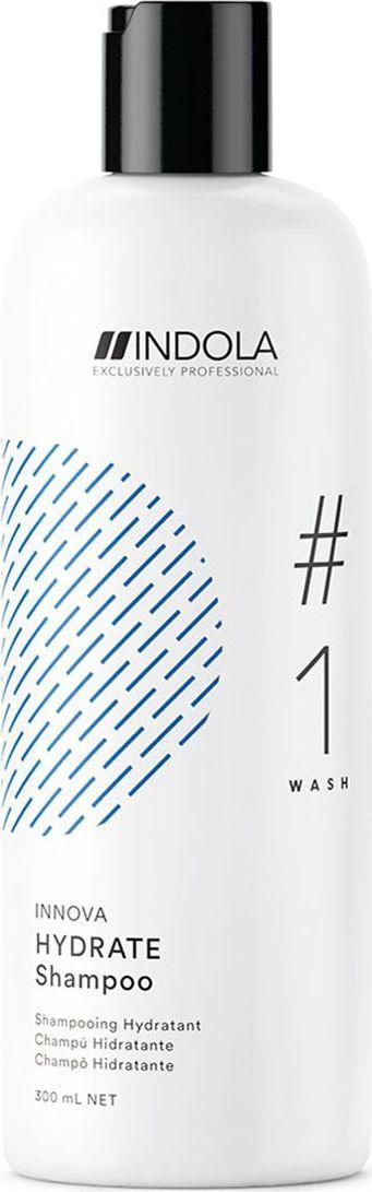 Indola Professional Увлажняющий шампунь для волос Hydrate #1 Wash Innova, 300 мл2207062Увлажняющий шампунь. Входящее в состав Масло Жожоба идеально восстанавливает влагу в волосах и питает сухие волосы, обеспечивая более легкое расчесывание. Формула с Пиксельной Технологией возвращает волосам первозданное качество, обеспечивая сияние цвета.