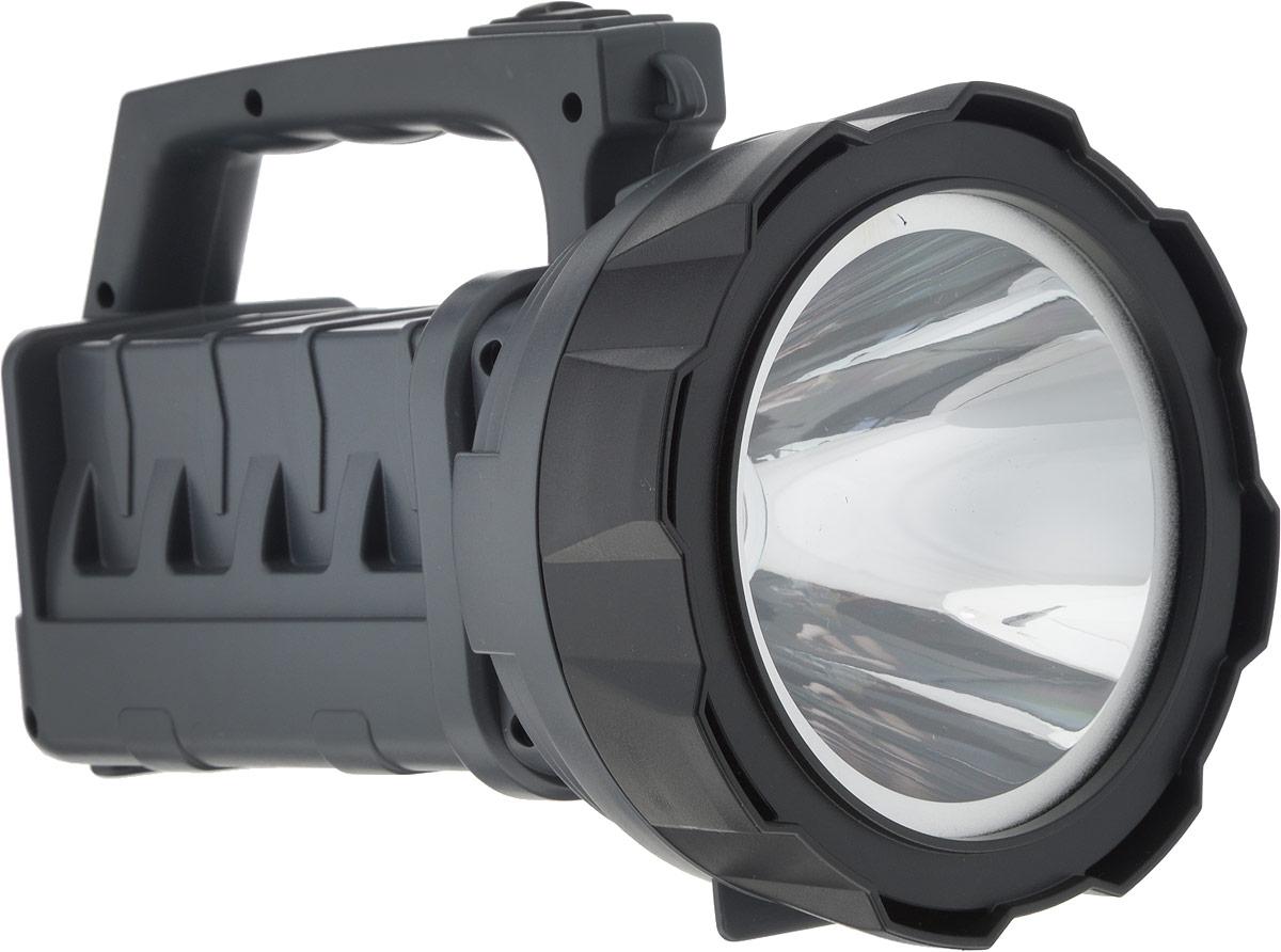 Фонарь-прожектор светодиодный Navigator NPT-SP14-ACCU, аккумуляторный, ручной, АКБ 3 А/ч4670004715963Фонарь-прожектор светодиодный Navigator NPT-SP14-ACCU - это надежный и современныйпортативный источник света. Используются в помещениях или на открытых пространствах, гденеобходимо мощное освещение (проведение ремонтных работ, прогулки в темное время суток, втом числе в условиях тумана, поездки на автомобиле).Технические характеристики: Материал корпуса: ABS-пластик. Источник света: светодиод. Мощность светодиода: 3 Вт. Непрерывная работа: 15 ч. 2 уровня яркости: 50% и 100%. Световой поток: до 200 лм. Дальность освещения: до 250 м. Свинцово-кислотный аккумулятор: 4 В, 3 А/ч. Подзарядка: от сети 220 В. Класс защиты: IPX3.