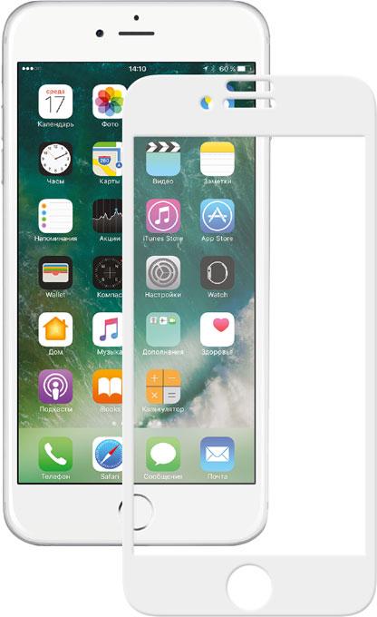 Deppa 3D защитное стекло для Apple iPhone 7 Plus, White - Защитные стекла и пленки