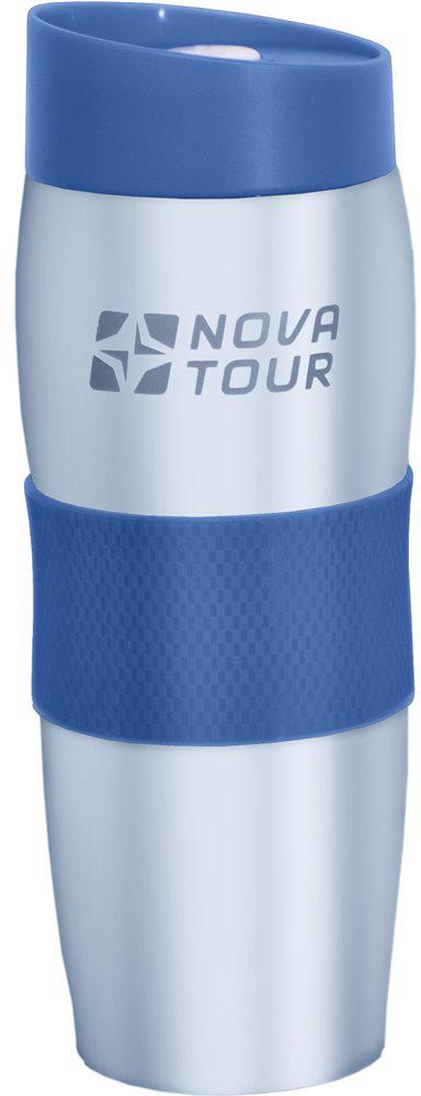 Термокружка Nova Tour Драйвер 360, цвет: голубой, 0,36 л термокружка nova tour драйвер 360 360ml