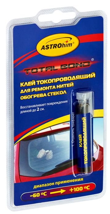 Клей токопроводящий Astrohim, для ремонта нитей обогрева стекол, 2 млАС-9101Токопроводящий клей ASTROhim предназначен для ремонта нитей обогрева заднего стекла автомобиля с повреждениями (разрывами) не более 2 см.Одного флакона достаточно для восстановления поврежденных нитей суммарной длиной до 20 см. Не использовать клей для восстановления боковых токоподводящих шин, соединяющих нити обогрева.