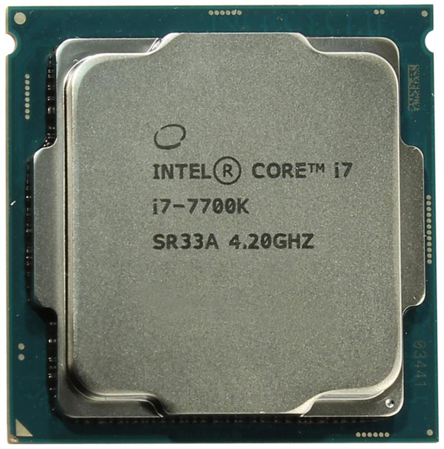 Intel Core i7-7700K процессор - Комплектующие для компьютера