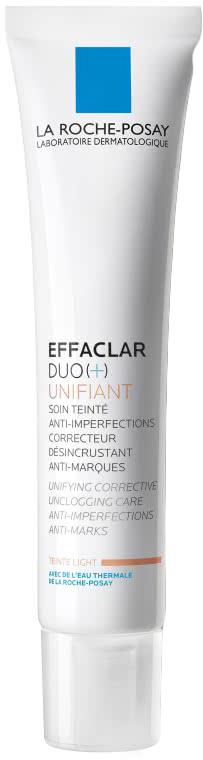 La Roche-Posay Effaclar Duo+Тонирующий Светлый 40 мл la roche posay тонирующий крем гель для проблемной кожи светлый effaclar duo 40 мл тонирующий крем гель для проблемной кожи effaclar duo 40 мл 40 мл