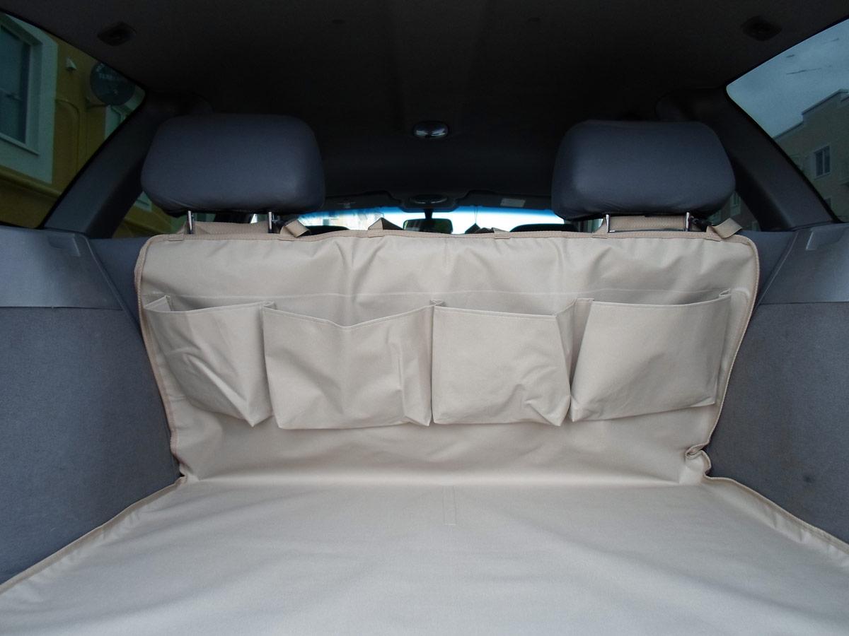 Накидка защитная для животных AvtoPoryadok, в багажник, с карманами, цвет: бежевый, 160 х 100 смB17203BeНакидка изготовлена из износостойкой и водонепроницаемой ткани ПВХ 600 Ден. Отлично защищает багажник автомобиля от грязи и повреждений. Ткань легко моется и стирается при 30°С. Удобные и вместительные карманы для всяких мелочей. Дополнительная фиксация к обивке багажника (липучка крючок). Универсальное и надежное крепление фастекс, подходящее на любой вид сидений. Очень легко устанавливается и снимается.