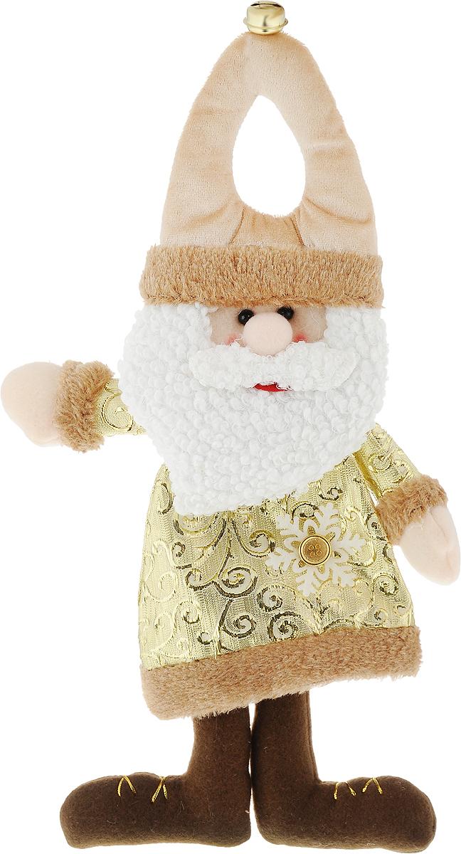 Новогоднее подвесное украшение Дед Мороз, 19 х 37 см175845 АНовогоднее украшение Дед Мороз ручной работы отлично подойдет для декорации вашего дома и новогодней ели. Украшение можно повесить в любом понравившемся вам месте, но, конечно, удачнее всего оно будет смотреться на праздничной елке.Елочная игрушка - символ Нового года. Она несет в себе волшебство и красоту праздника. Такое украшение создаст в вашем доме атмосферу праздника, веселья и радости.