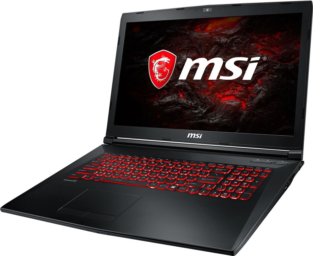 MSI GL72M 7REX-1237XRU, BlackGL72M 7REX-1237XRUБыстрый игровой ноутбук MSI GL72M 7REX с процессором 7-го поколения Intel Core i5-7300HQ и производительной графической картой NVIDIA GeForce GTX 1050Ti. 7-ое поколение процессоров Intel Core серии H обрело более энергоэффективную архитектуру, продвинутые технологии обработки данных и оптимизированную схемотехнику. Производительность Core i5-7300HQ по сравнению с i5-6300HQ выросла в среднем на 8%, мультимедийная производительность - на 10%, а скорость декодирования/кодирования 4K-видео - на 15%. Аппаратное ускорение 10-битных кодеков VP9 и HEVC стало менее энергозатратным, благодаря чему эффективность воспроизведения видео 4K HDR значительно возросла.3D-производительность GeForce GTX 1050 Ti по сравнению с GeForce GTX 965M увеличилась более чем на 15%. Инновационная система охлаждения Cooler Boost 4 и особые геймерские технологии раскрыли весь потенциал новейшей NVIDIA GeForce GTX 1050 Ti. Совершенно плавный геймплей на ноутбуках MSI Gaming разбивает стереотипы об исключительной производительности десктопов, заставляя взглянуть на мобильный гейминг по-новому.Вы сможете достичь максимально возможной производительности вашего ноутбука благодаря поддержке оперативной памяти DDR4-2400, отличающейся скоростью чтения более 32 Гбайт/с и скоростью записи 36 Гбайт/с. Возросшая на 40% производительность стандарта DDR4-2400 (по сравнению с предыдущим поколением, DDR3-1600) поднимет ваши впечатления от современных и будущих игровых шедевров на совершенно новый уровень.Эксклюзивная технология MSI SHIFT выводит систему на экстремальные режимы работы, одновременно снижая шум и температуру до минимально возможного уровня. Переключаясь между пятью профилями, вы сможете достичь экстремальной производительности своей машины или увеличить время её работы от батарей. Функция легко активируется либо горячими клавишами FN + F7, либо через приложение Dragon Gaming Center.Тепло является одним из самых главных условий существования всего живого 