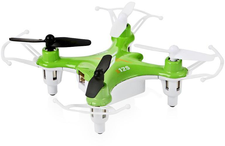 Syma Квадрокоптер на радиоуправлении X12s цвет зеленый