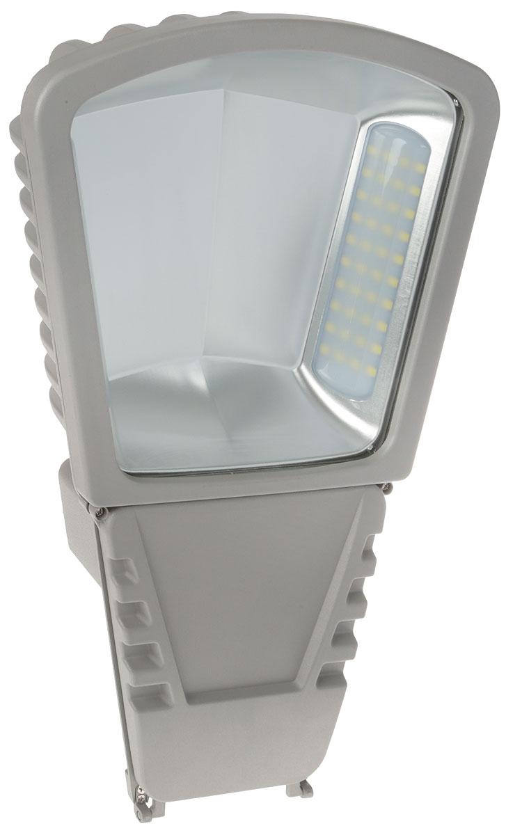 Светильник уличный Navigator NSF-W-80-6K-GR-LED, светодиодный, 80 Вт4670004712481Светильник серии NSF-LED предназначен для наружного освещения таких объектов, как: дороги со средней и слабой интенсивностью движения, улицы, площади, автостоянки и проч. Характеристики:Коэффициент цветопередачи - Ra>67Световой поток: 6700 лм Цветовая температура: 6000 КСтепень защиты от пыли и влаги - IP65 Диапазон рабочих температур - от -40°С до +45°С