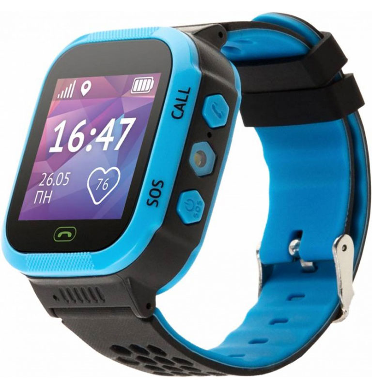 Кнопка Жизни Aimoto Start, Blue умные часы - Умные часы