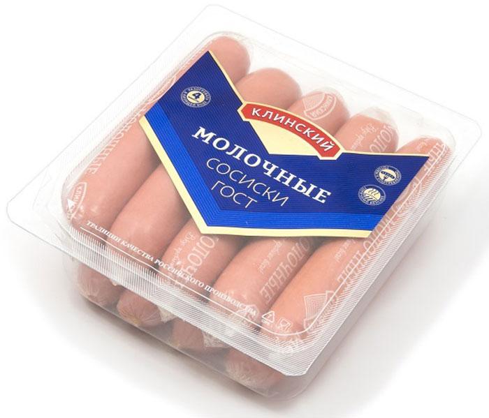Клинский МК Сосиски Молочные, 530 г велком молочные сосиски 600 г