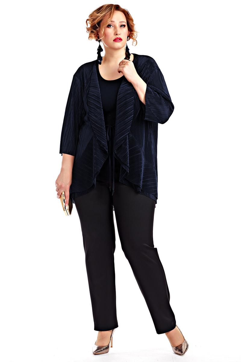 Кардиган женский Averi, цвет: синий. 1388_029. Размер 64 (68) женский кардиган 013a56