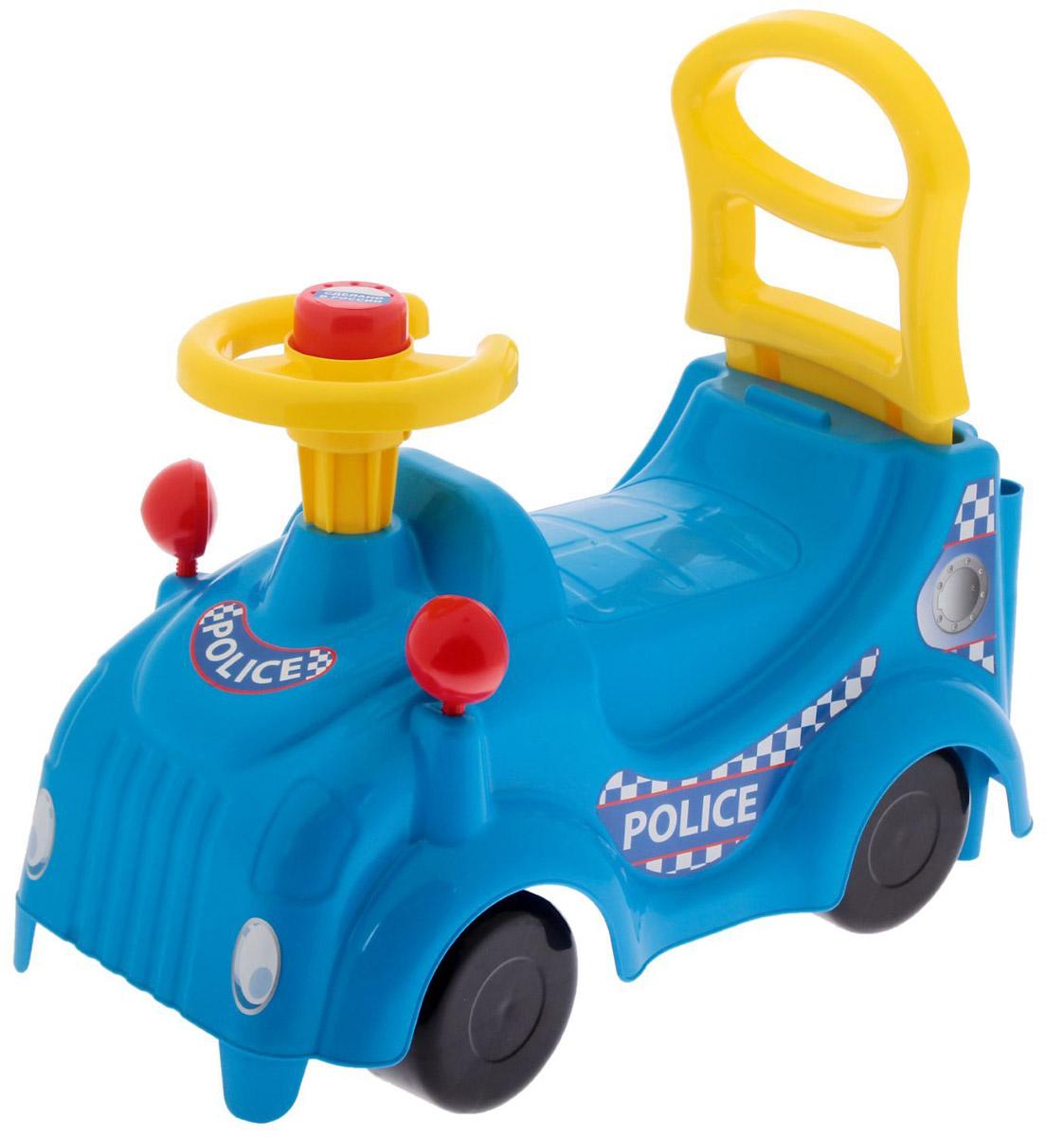 Zebratoys Машинка-каталка Полиция tonka машинка полиция