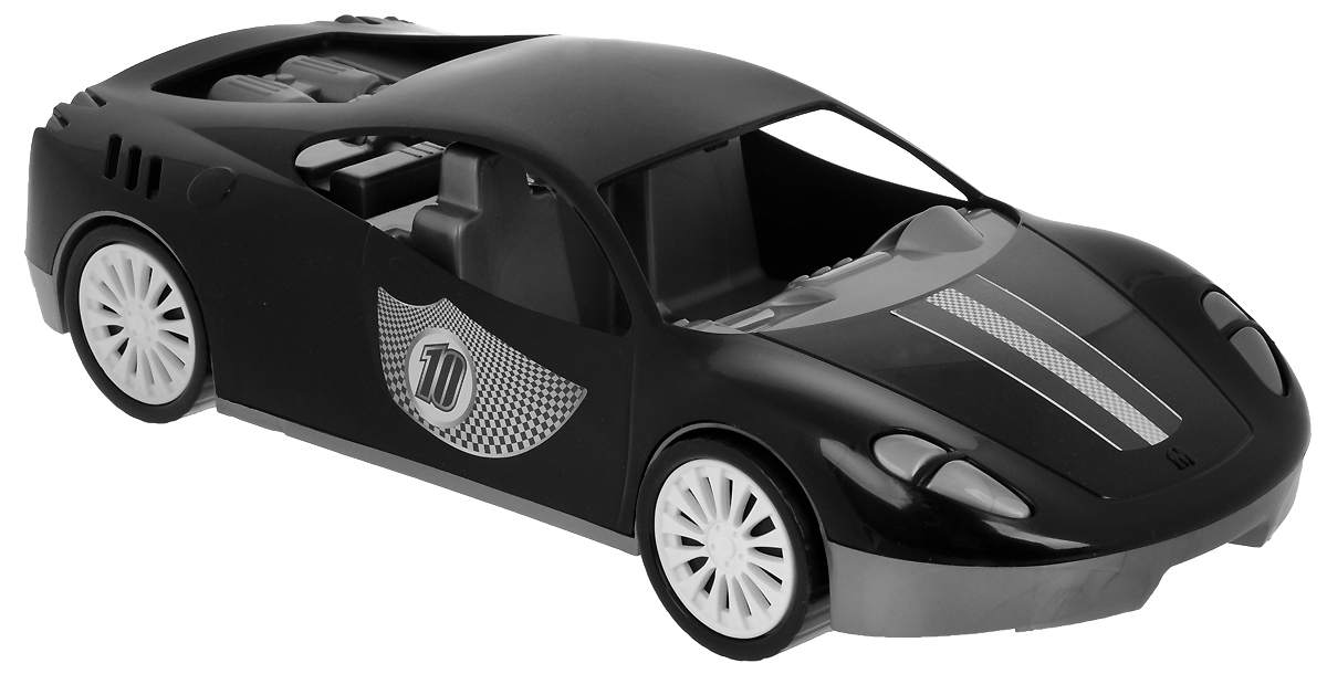 Zebratoys Спортивный автомобиль цвет черный салон в москве мерседесс как автомобиль