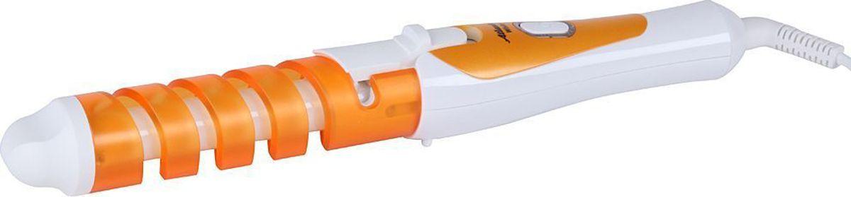 Atlanta ATH-6658, Orange электрощипцы для укладки волосATH-6658Ручка с противоскользящим покрытием Двойная термоизоляция ручки Полированное керамическое напыление Керамический нагревательный элемент с быстрым стартом Вращающийся шнур Индикатор работы Диаметр рабочей поверхности 19 мм Длина рабочей поверхности 12 см Максимальная температура 200 °С Номинальная мощность 25 Вт 230 В ~ 50 Гц