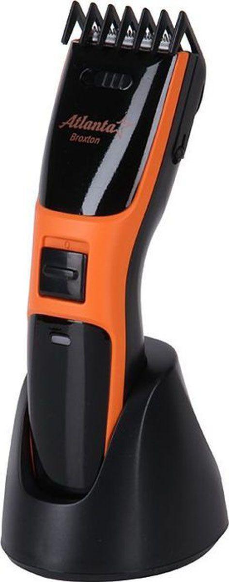 Atlanta ATH-6902, Orange Black машинка для стрижкиATH-6902Удобная подставка с зарядкой Питание от аккумулятора и через адаптер Регулируемая насадка: 3, 6, 9, 12,15 мм Функция филировки Дополнительные аксессуары в комплекте Индикатор зарядки Прецизионные ножи из стали высокой прочности Долговечный, мощный аккумулятор Ni-MH 2,4 В; 600 мА/ч