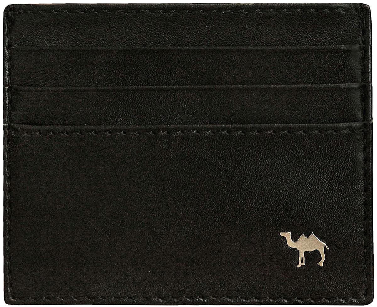 Визитница мужская Dimanche Camel, цвет: черный. 572/К camel camel мужская мужская талия тонкие брюки бизнес повседневные джинсы x6x269113 синий 32