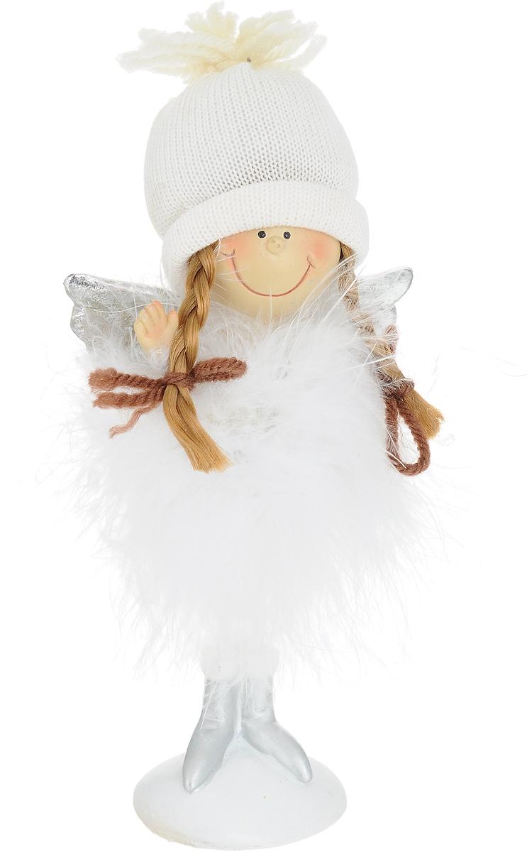 Фигурка новогодняя Ангелочек, высота 17 см72710Декоративная фигурка Ангелочек выполнена извысококачественных материалов в оригинальном стиле.Интерьерная игрушка предназначена длявзрослых и детей, для игр и украшения новогодней елки, да ипросто, для создания праздничной атмосферы в интерьере!Фигурка прекрасно украсит ваш дом к празднику, а в остальныедни с ней с удовольствием будут играть дети. Оригинальныйдизайн и красочное исполнение создадут праздничноенастроение. Фигурка создана вручную, неповторима и оригинальна. Порадуйте своих друзей и близких этим замечательным подарком!