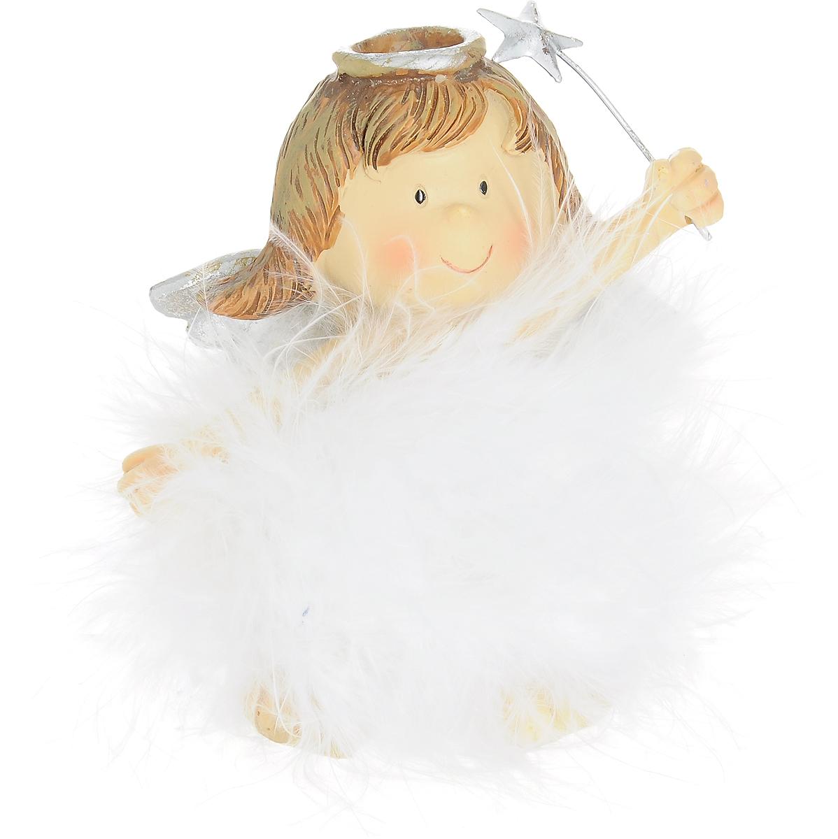Фигурка декоративная Ангелочек, 8 х 4 х 10 см массажная палочка шунгит 8 10 см