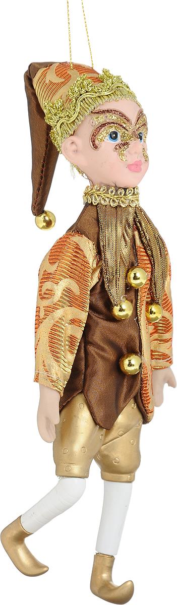 Новогоднее подвесное украшение Christmas Time Эльф, высота 25 см275006Новогоднее подвесное украшение Christmas Time Эльф прекрасно подойдет для праздничного декора новогодней ели. Изделие выполнено из высококачественных материалов. Для удобного размещения на елке для украшения предусмотрена петелька. Елочная игрушка - символ Нового года. Она несет в себе волшебство и красоту праздника. Создайте в своем доме атмосферу веселья и радости, украшая новогоднюю елку нарядными игрушками, которые будут из года в год накапливать теплоту воспоминаний.