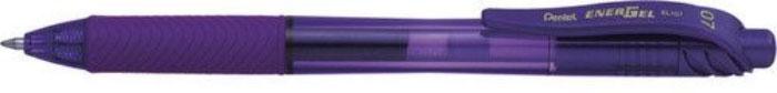 Гелевая ручка ENERGEL-X фиолетовый стержень 0.7 ммPBL107-V