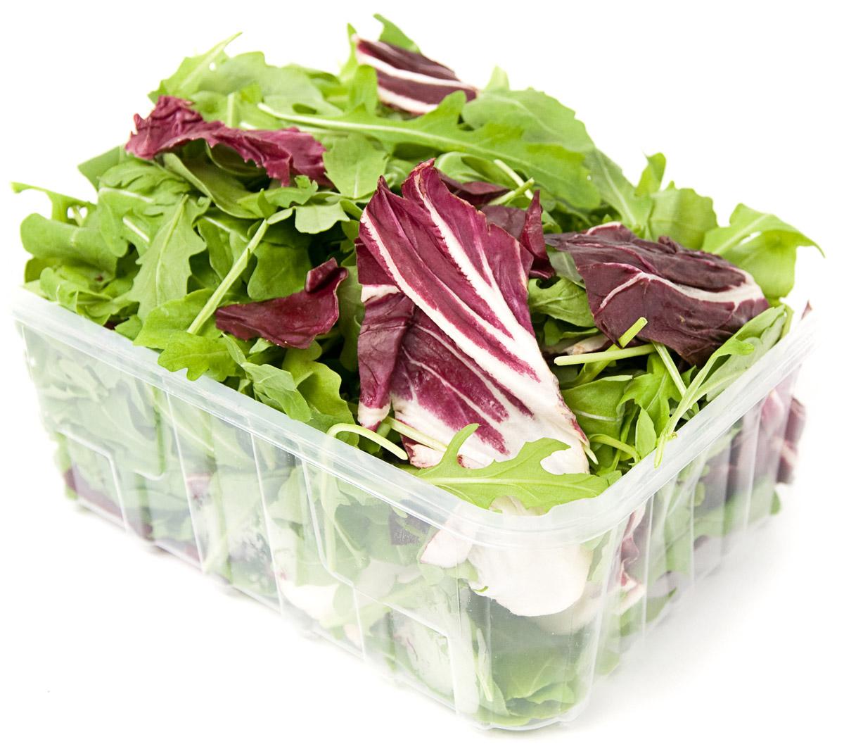Смесь салатов Руккола и Радичио, 125 г Кроме того, богаты салаты содержанием   фосфора, калия натрия...