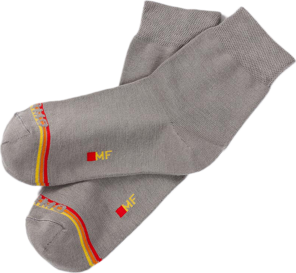 Термоноски женские Mark Formelle, цвет: серый. 350T-013. Размер 36/37350T-013Удобные термоноски от Mark Formelle, изготовленные из термосырья с добавлением вискозы, полиамида и эластана, очень мягкие и приятные на ощупь, позволяют коже дышать. Эластичная резинка плотно облегает ногу, не сдавливая ее, обеспечивая комфорт и удобство.