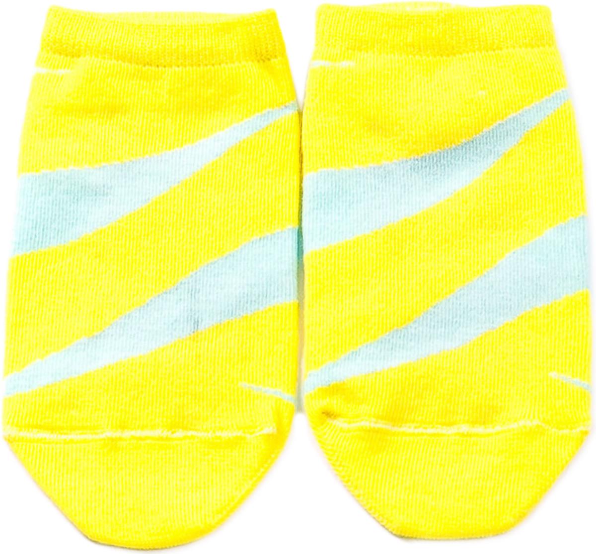 Носки женские Mark Formelle, цвет: лимонный. 306K-446. Размер 36/37306K-446