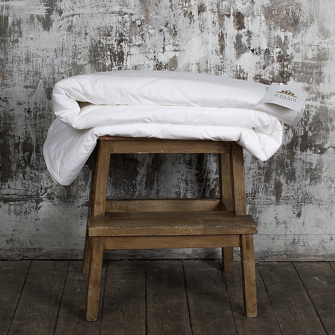 Одеяло легкое William Roberts Essential Bamboo, наполнитель: бамбуковое волокно, 155 х 200 смwlr233237Легкое одеяло William Roberts Essential Bamboo с наполнителем из бамбукового волокнаподарит вам спокойный и здоровый сон. Волокно бамбука - это натуральный материал, добываемый изстеблей растения. Он обладает способностьюбыстро впитывать и испарять влагу, а такжеантибактериальными свойствами, что препятствуетпоявлениюпылевых клещей и болезнетворных бактерий.Изделия с наполнителем из бамбука легко пропускаютвоздух. Они отличаются превосходнымидезодорирующими свойствами, мягкие, легкие, простые вуходе, гипоаллергенные и подходят абсолютно всем.Чехол одеяла выполнен из хлопкового сатина. Одеяло простеганои окантовано. Стежка надежно удерживает наполнительвнутри и не позволяет ему скатываться. Плотность наполнителя: 150 г/м2. Размер: 155 х 200 см.