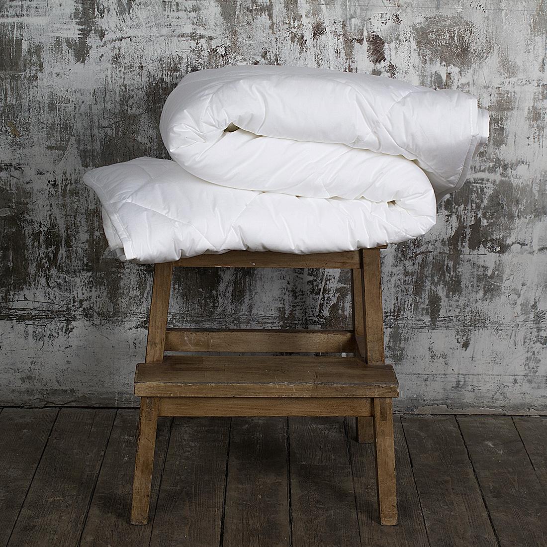 Одеяло всесезонное William Roberts Essential Bamboo, наполнитель: бамбуковое волокно, 155 х 200 смwlr233239Всесезонное одеяло William Roberts Essential Bamboo с наполнителем из бамбукового волокна подарит вам спокойный и здоровый сон. Волокно бамбука - это натуральный материал, добываемый изстеблей растения. Он обладает способностьюбыстро впитывать и испарять влагу, а такжеантибактериальными свойствами, что препятствуетпоявлениюпылевых клещей и болезнетворных бактерий.Изделия с наполнителем из бамбука легко пропускаютвоздух. Они отличаются превосходнымидезодорирующими свойствами, мягкие, легкие, простые вуходе, гипоаллергенные и подходят абсолютно всем.Чехол одеяла выполнен из хлопкового сатина. Одеяло простеганои окантовано. Стежка надежно удерживает наполнительвнутри и не позволяет ему скатываться. Плотность наполнителя: 300 г/м2. Размер: 155 х 200 см.