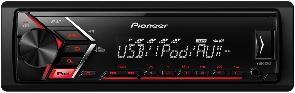 Pioneer MVH-S100UI автомагнитола