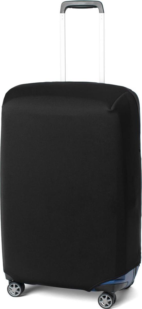 Чехол для чемодана Ratel, цвет: черный. Размер M (высота чемодана: 57-64 см)