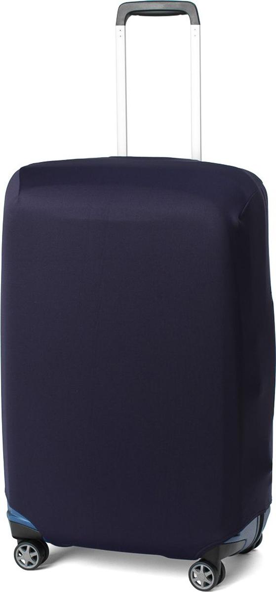Чехол для чемодана Ratel, цвет: темно-синий. Размер L (высота чемодана: 65-75 см)