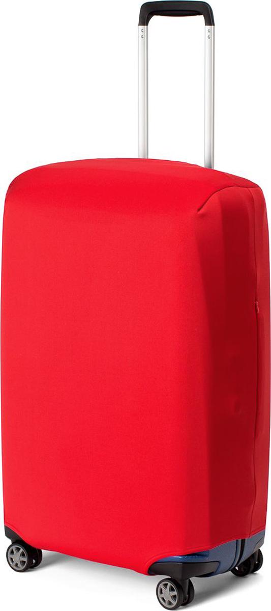 Чехол для чемодана Ratel, цвет: красный. Размер L (высота чемодана: 65-75 см)