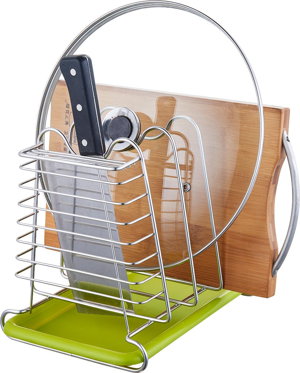 """Сушилка для посуды """"Travola"""", изготовленная из стали и пластика, представляет собой решетку с ячейками для посуды разных размеров.  Изделие оснащено пластиковым поддоном для стекания воды. На такой сушилке вы сможете разместить большое количество предметов."""