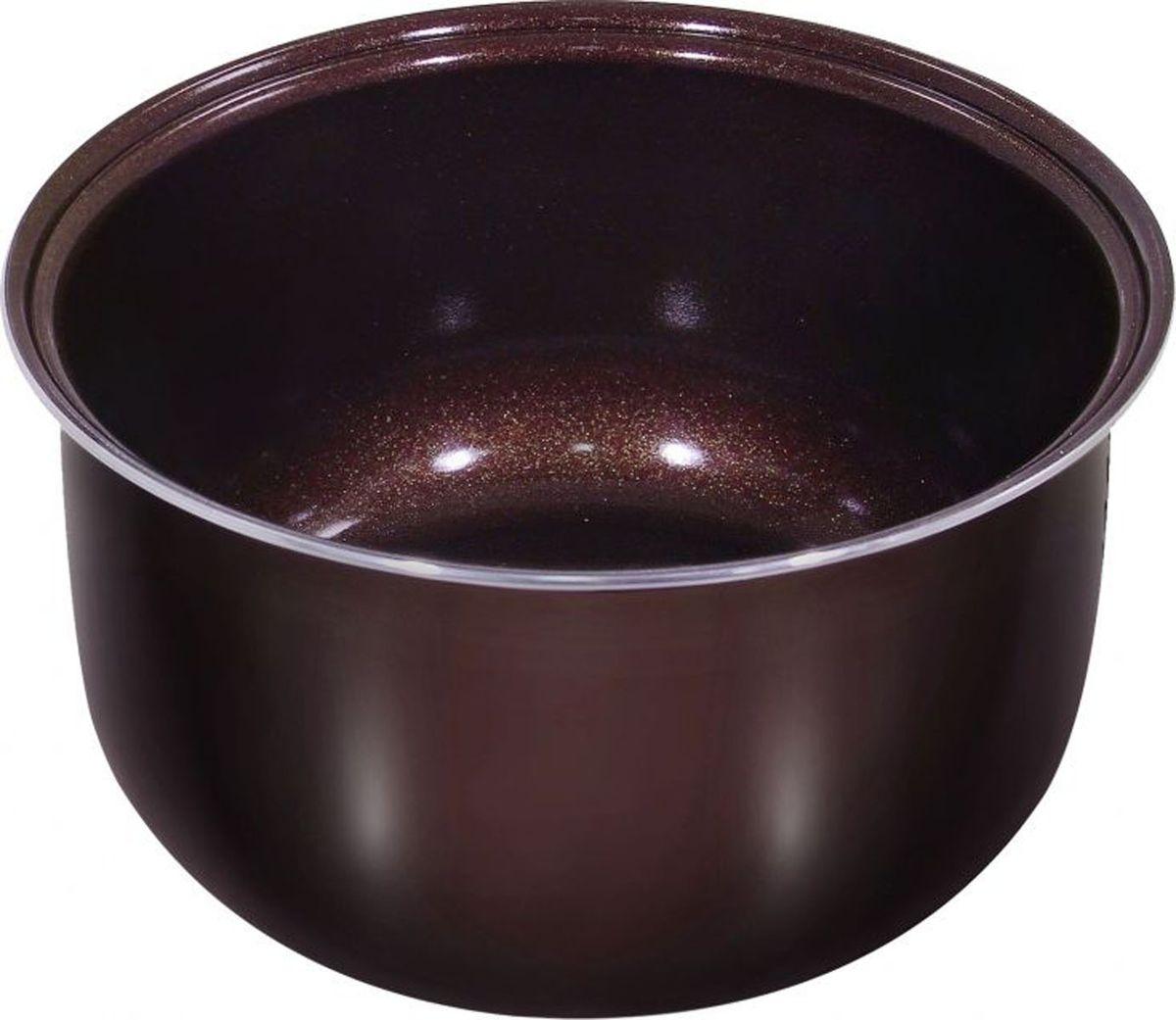 Marta MT-MC3122 Ceramic, Chocolate чаша для мультиварки, 3 лMT-MC3122Толстостенная чаша Marta MT-MC3122 для использования во всех типах 3-литровых мультиварок, кромемультиварок-скороварок.Внутреннее немецкое двухслойное керамическое покрытие чаши GREBLON CK2. Данное покрытие по некоторымхарактеристикам превосходит корейские и прочие аналоги в несколько раз. Создано из природного,экологически чистого материала. Имеет антибактериальные свойства, не окисляется, не выделяет вредные примеси, сохраняет истинный вкус иполезные свойства продуктов, тем самым, заботясь о качестве пищи и здоровье людей.