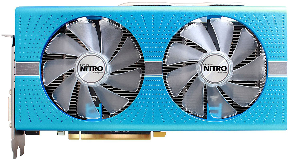Sapphire Nitro+ Radeon RX 580 Special Edition 8GB видеокарта