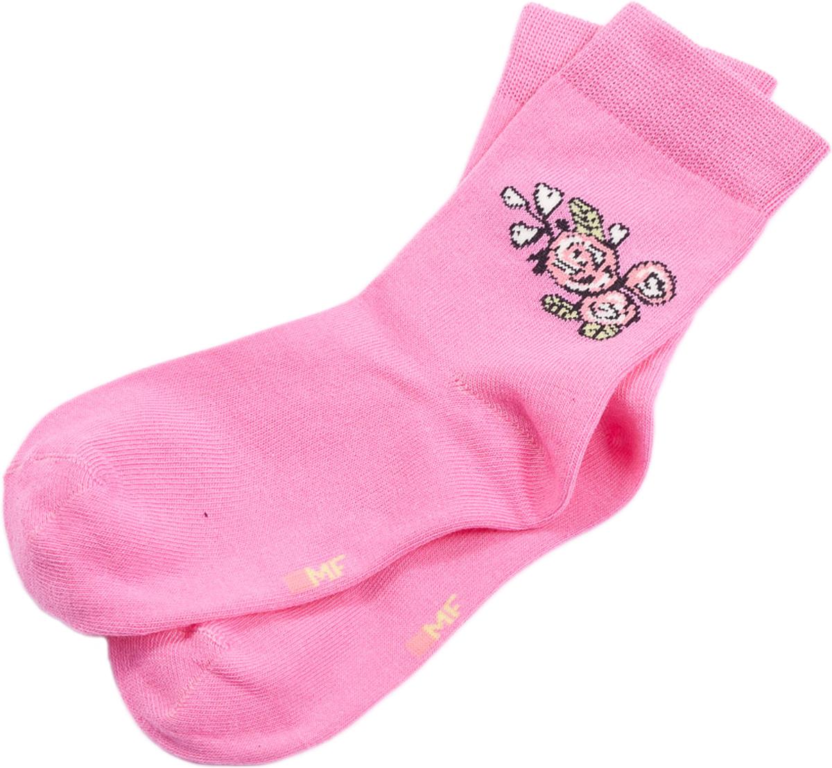 Носки для девочек Mark Formelle, цвет: розовый. 400K-370_991. Размер 34/36400K-370_991