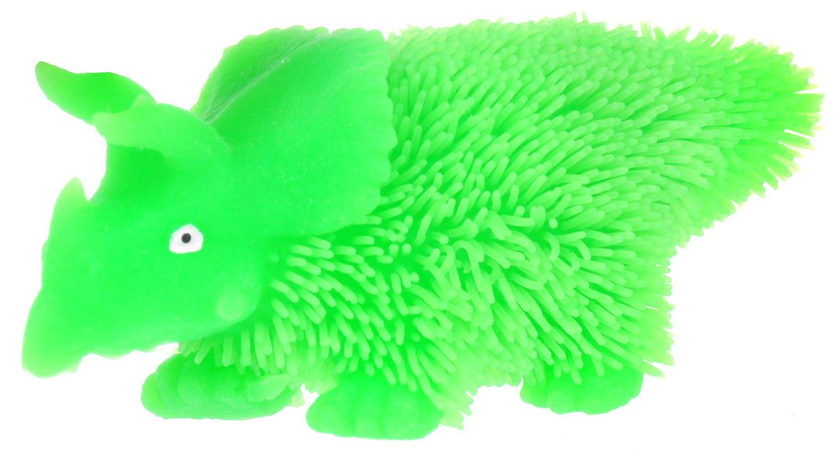 1TOY Антистрессовая игрушка Нью-Ёжики Динозавр цвет зеленый 1toy игрушка антистресс ё ёжик животное цвет бежевый