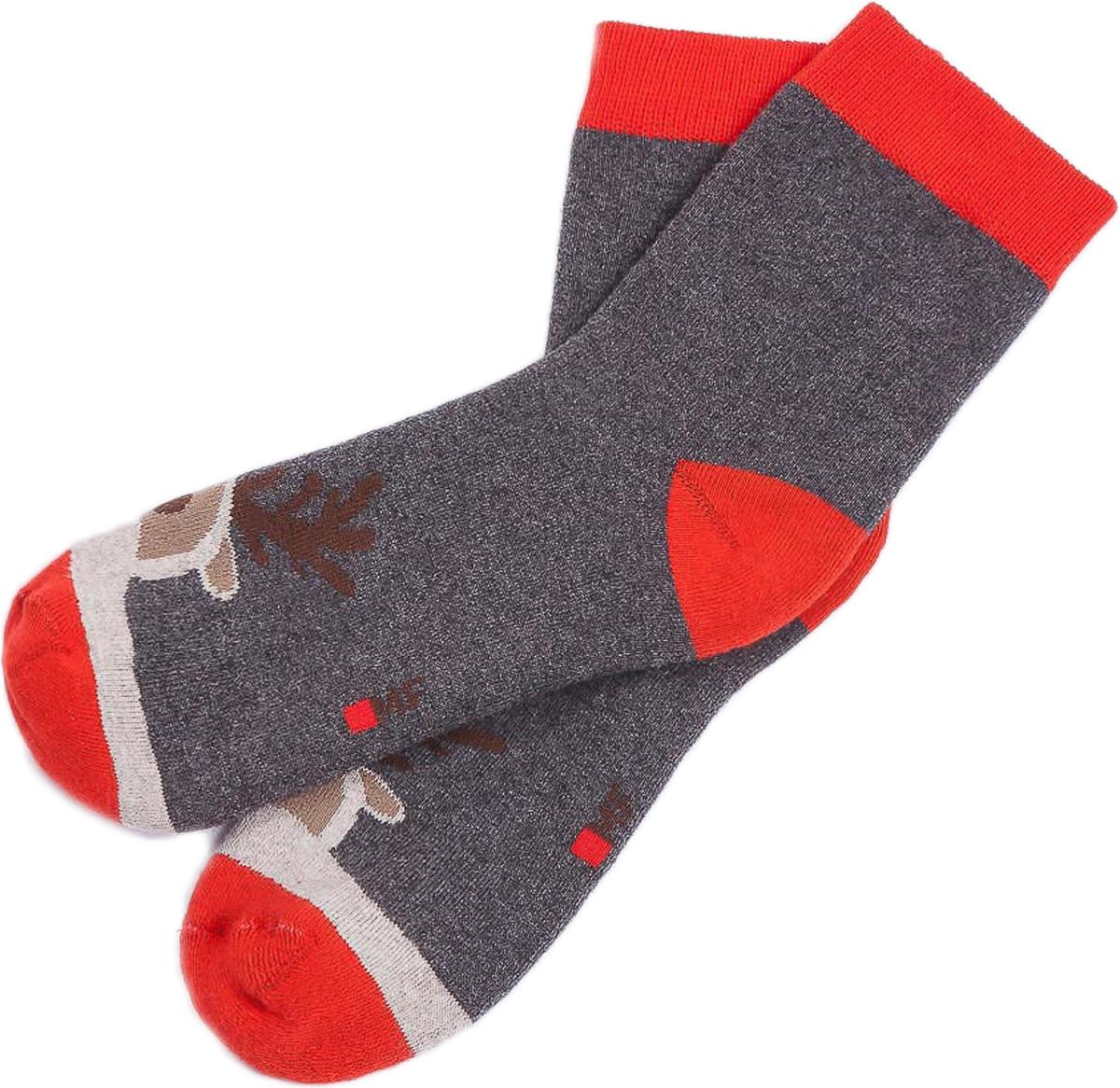 Носки для мальчиков Mark Formelle, цвет: темно-серый. 500K-381_5666. Размер 25/27500K-381_5666