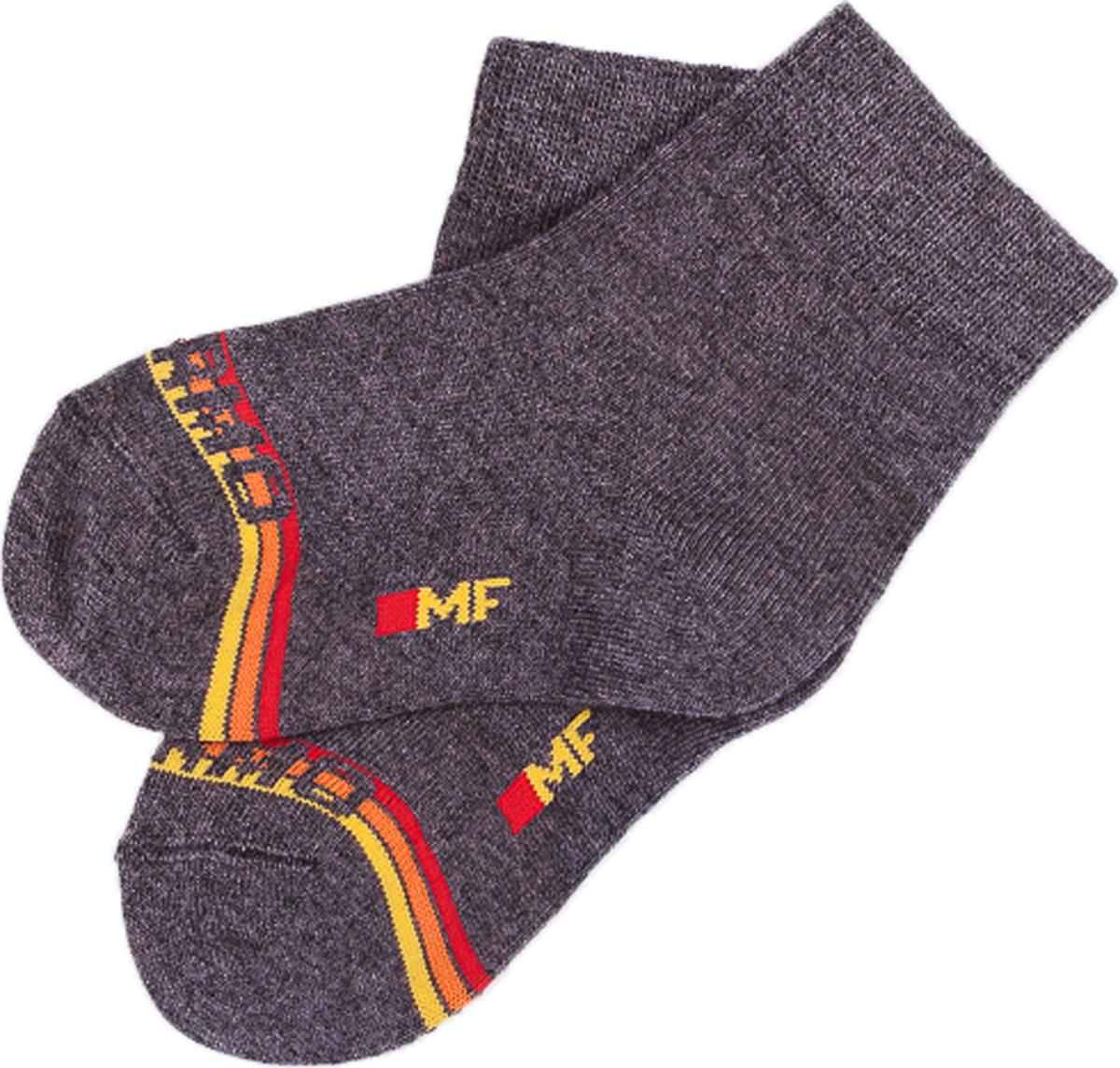 Носки для мальчиков Mark Formelle, цвет: темно-серый. 503T-036_5666. Размер 28/30503T-036_5666