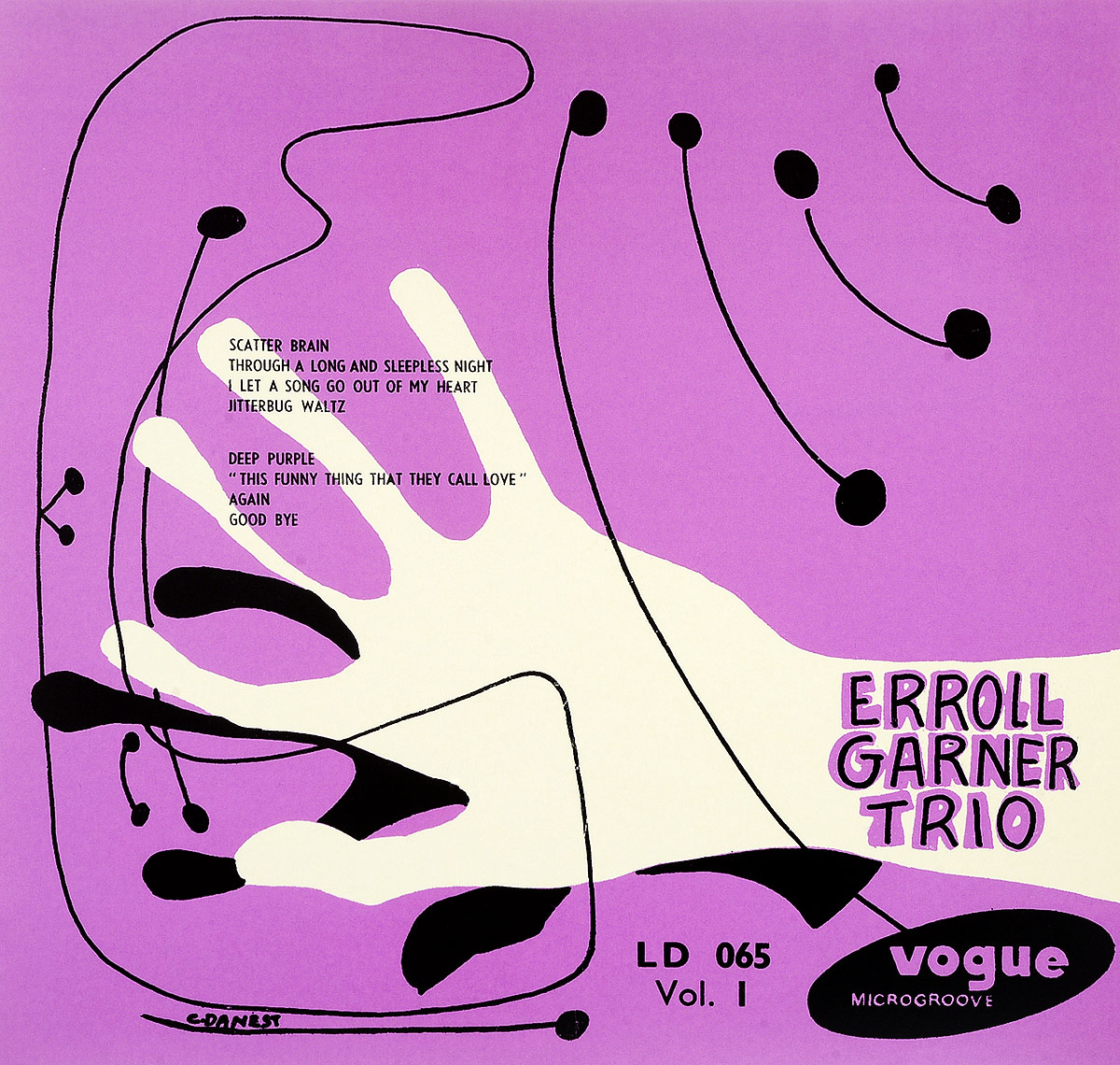 The Erroll Garner Trio Erroll Garner Trio. Erroll Garner Trio Vol. 1 (LP) the ramsey lewis trio the ramsey lewis trio in person vol 2 1965 67