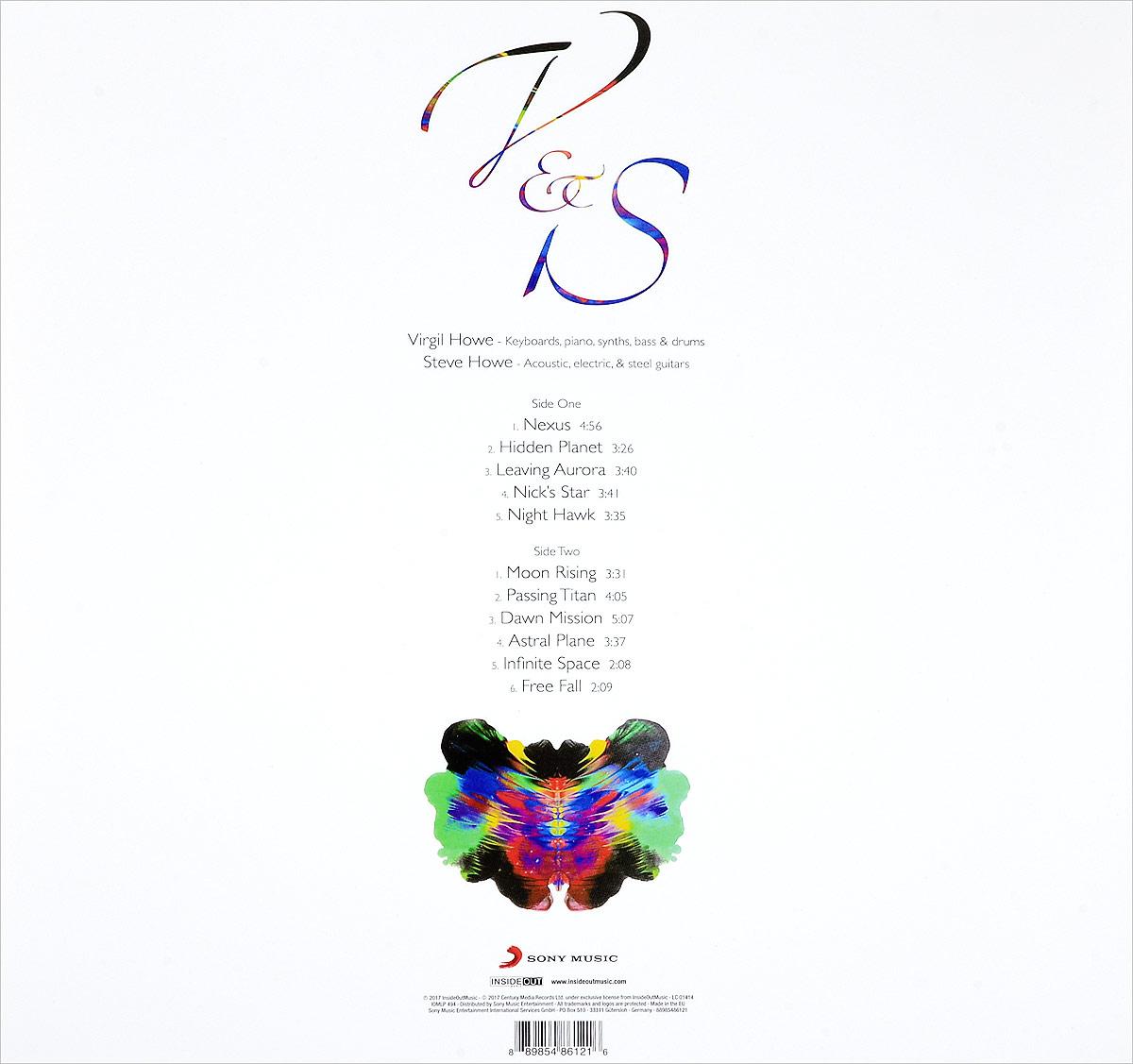 Virgil& Steve Howe.  Nexus (LP + CD) Sony Music