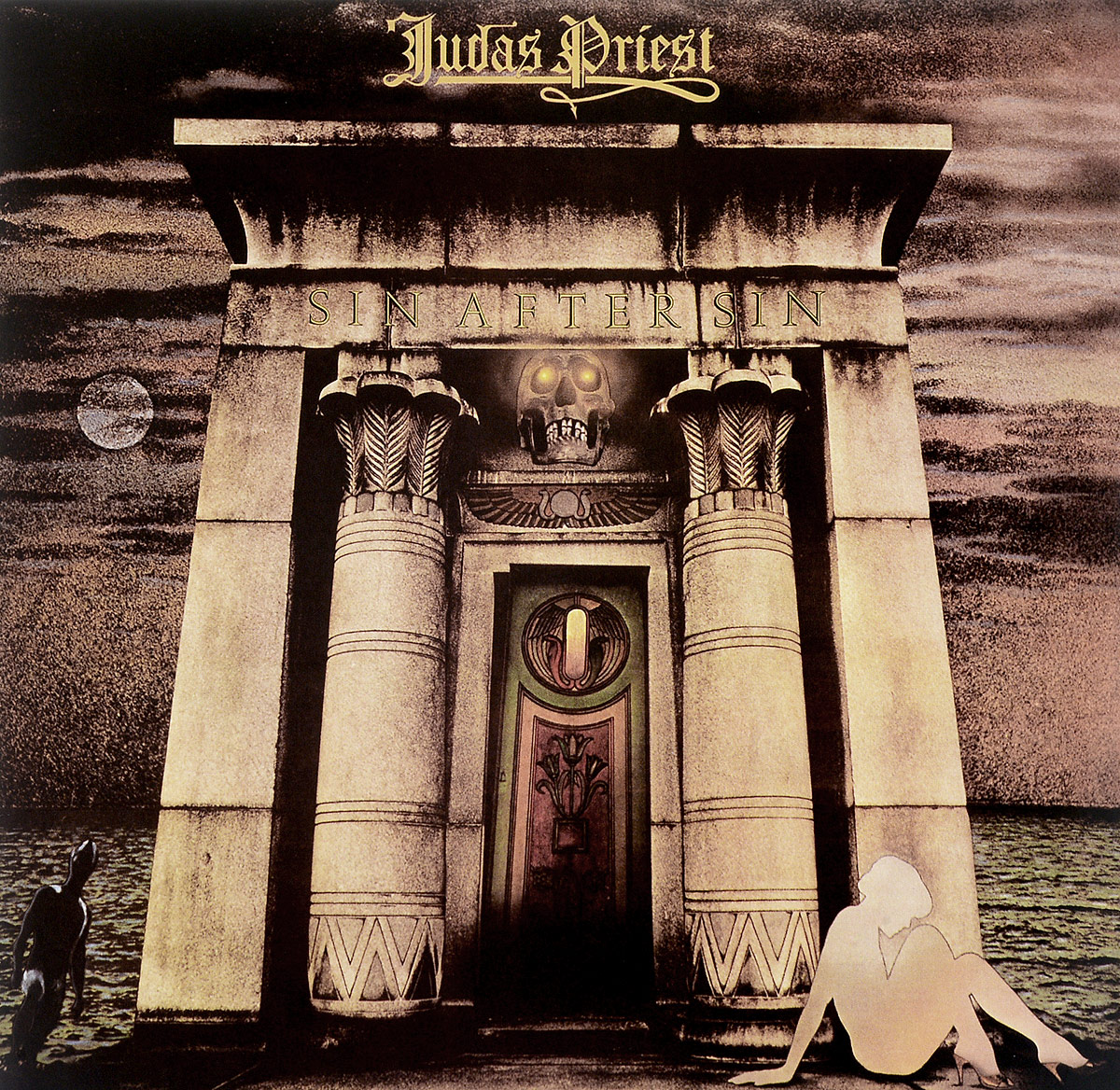 Judas Priest Judas Priest. Sin After Sin (LP) dear judas reissue 9 87 paper