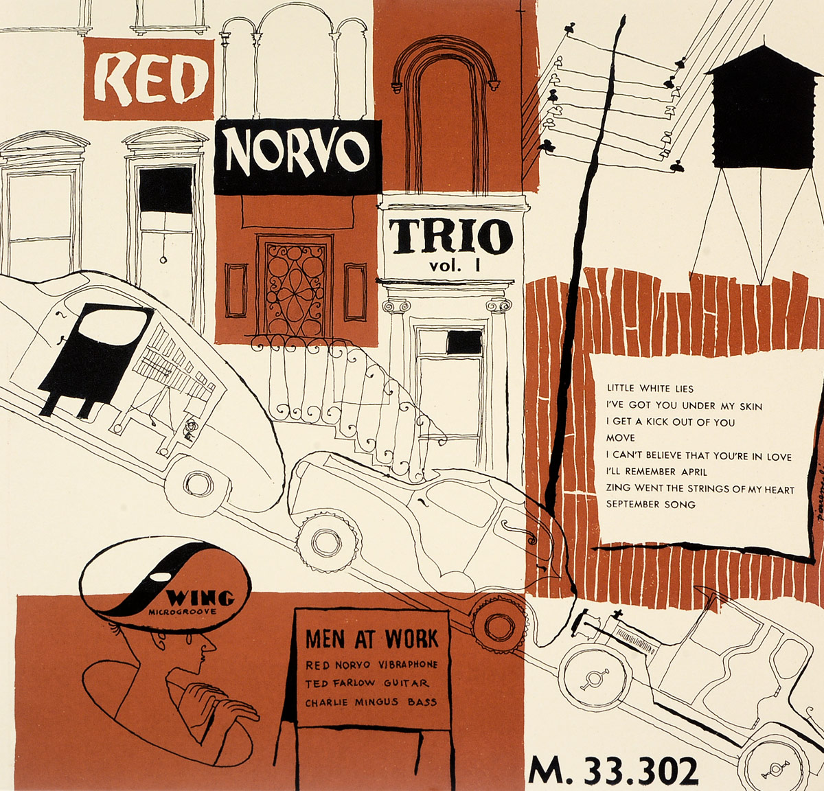 Рэд Норво Red Norvo. Men At Work Vol. 1 (LP) cells at work 1