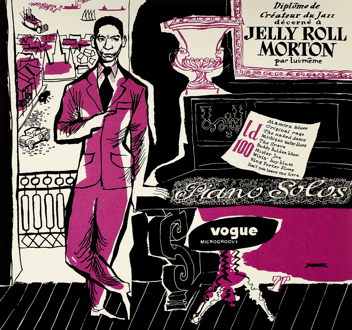 Zakazat.ru Jelly Morton. Pianos Solos (LP)