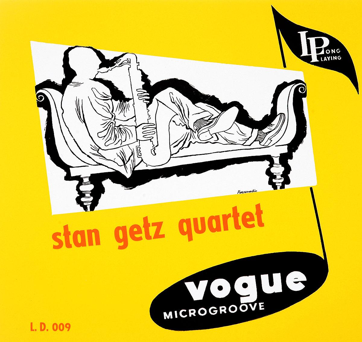 Стэн Гетц Stan Getz. Stan Getz Quartet (LP) hyundai getz с пробегом в питере